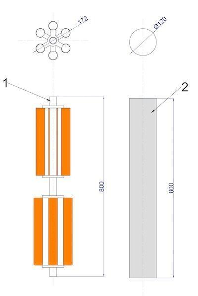 Теллурический элемент ТЭ-6 (земляная батарея)