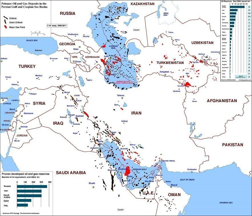Добыча нефти на востоке