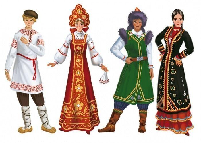 традиционная одежда русского народа