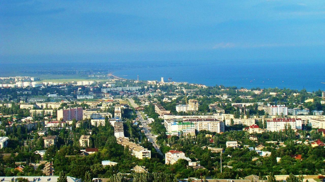 Панорама Феодосии